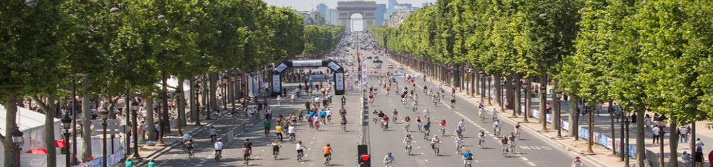 Paris free from cars