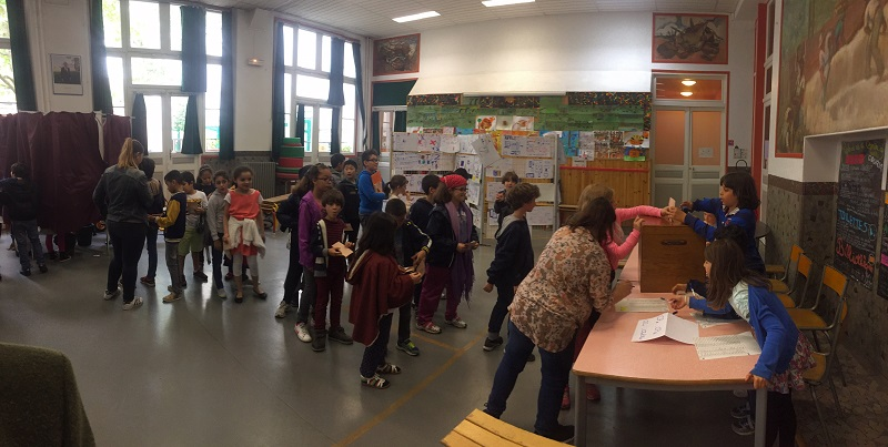 Election Budget Participatif Ecole Saint Martin