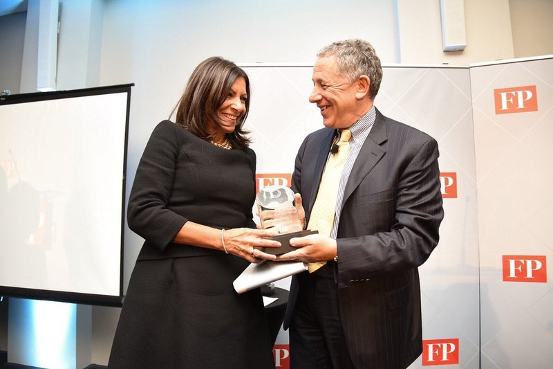 Anne Hidalgo distinguée «Green Diplomat of the Year»